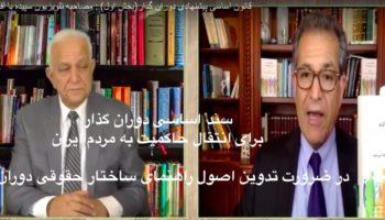 صدارت -سند اساسی دوران گذار برای انتقال حاکمیت به مردم ایران جلسه اول-مقدمه: در ضرورت تدوین اصول راهنمای ساختار حقوقی دوران گذار