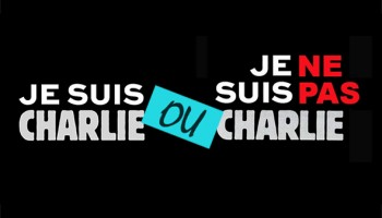 علی صدارت : من شارلی هستم!... یا نیستم؟... پرسش تکراری این است.
