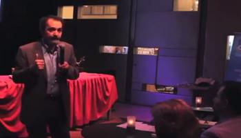 سخنرانی پروفسور مصطفوی در بارۀ بحران اتمی