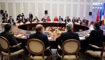 از راه حل های صلح آمیز مناقشات سیاسی و بین المللی در منطقه خاورمیانه و نزدیک از جمله سوریه، پشتیبانی می کنیم!
