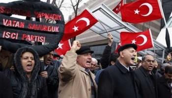 سرکوب اعتراضات مردم ترکیه را محکوم می کنیم